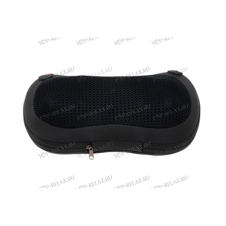 Массажная подушка RELAX PILLOW чёрная (HYS 368) - 4